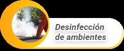Desinfección de ambientes